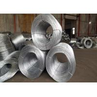 Buy cheap Low Carbon Steel And High Carbon Steel , Hot - Dipped Galvanized Binding Wire 0 from wholesalers