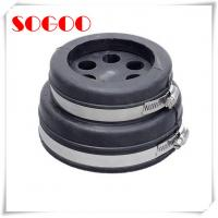 EPDM Rubber 4 Cable Entry Boots IP65 Stainless Steel Seal One Piece Design