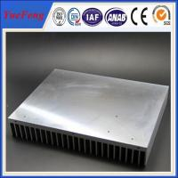Quality Industrial aluminum radiator profile /anodized aluminum extrusion heatsink for industry for sale