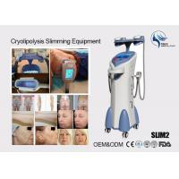 Quality Cryolipolysis Slim Freeze Fat Freeze Slimming Machine , Fat Reduction Equipment for sale