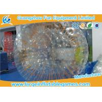Quality Clear TPU Snow Zorb Inflatable Ball , Giant Hamster Ball For Outdoor Activities for sale