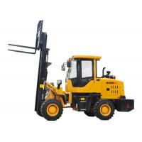 Quality Small All Terrain Electric Forklift Truck 920 FL , Forklift Front End Loader for sale