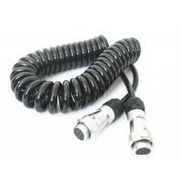 Buy cheap 7 Pin Spring Coiled Electrical Wire For Tractor Trailer Backup Camera Monitor from wholesalers