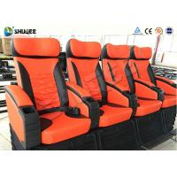 Quality Motion Chair With Horrible / Adventure Movie 4D Cinema Equipment Unique Design for sale