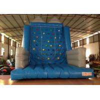 Quality Kindergarten School Inflatable Rock Climbing Wall Double Stitching 5 X 5 X 6m for sale