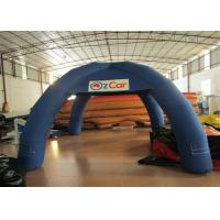 Quality Exhibition Waterproof Inflatable Event Tent 5 X 5m 0.9mm Pvc Tarpaulin Silk Printing for sale