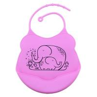 Quality High Durability Modern Twist Bib , Eating Solids Baby Food Bibs Multi Color for sale