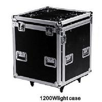 Quality 1200W Sturdy Spot Light Rack Flight Case Red / Navy With Two Doors for sale