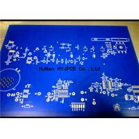 Quality Speacker Display Power Double Sided Pcb Manufacturers Blue Solder Mask for sale
