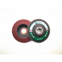Quality T27 Aluminium Oxide 100 Grit 115mm Angle Grinders Flap Disc Wheel for sale