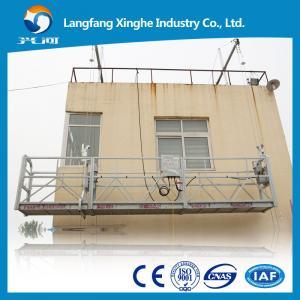 China high rise roof suspended platform, zlp mast climbing work platform, zlp800 steel structure on sale