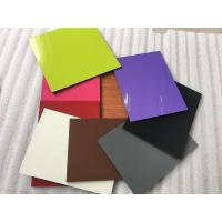 Quality Colorful Aluminum Composite Cladding Materials , Exterior Wall Covering Materials for sale