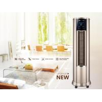 China LowNoise Warm Air Conditioner , Hot Air Vertical Fan Heater With LCD Touch Switch for sale