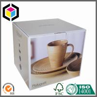 Quality Coffee Cup CMYK Full Color Offset Litho Print Paper Corrugated Packaging Box for sale