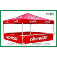 Quality Commercial Trade Show Folding Tent Waterproof Easy Up Tent For 4 Person for sale