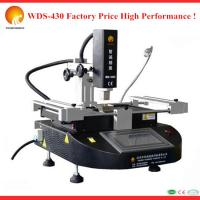 Quality New design 110v/220v bga chip repair station paste WDS-430 mobile phone bga rework station with MCGS touch screen for sale