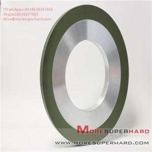 Quality Surface coating hot spraying resin bond diamond grinding wheel Alisa@moresuperhard.com for sale