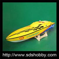 China Challenger R/C Toy Gasoline 26CC Boat-Yellow on sale