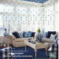 Quality CU132 Crystal Handsome Pvc Sheet Curtain for sale