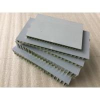 Buy Silver Aluminum Honeycomb Panels 12mm Thickness Anti - Static Corrosion Resistance at wholesale prices