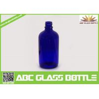 Quality 100ml Blue Essential Oil Glass Bottle for sale