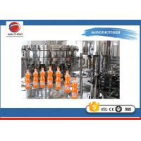 Quality Customized Carbonated Water Filling Machin , Soft Drink Filling Machine 4.4kw for sale