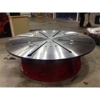 Quality OEM 15 T Rotary Welding Positioner with Step - Less Frequency Conversion Rotation for sale