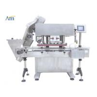 China Professional Bottle Packaging Line Swing Type Cap Wheel Screw Capping Machine on sale