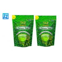 Quality Heat Sealable Foil Tea Packaging Bags Flexible Durable Zip Top 175mm x 265 mm for sale