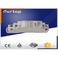 Quality DIN Rail 35mm Mounting DIN Rail Latching Relay 230VAC 50 - 60Hz Rated Voltage for sale