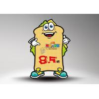 Buy Corrugated Warm prompt cardboard standee for supermarkets and stores at wholesale prices