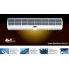 Super thin heating air curtain for sale
