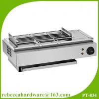 China Electric barbecue grills stainless steel smokeless bbq grill on sale
