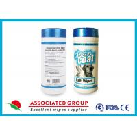 Buy Homemade Dog Ear Pet Cleaning Wipes / Dog Deodorant Wipes For Bath at wholesale prices