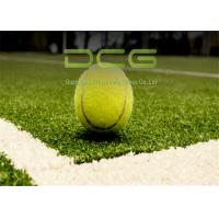 Quality PE Material Fake Golf Grass Outstanding Abrasion Resistance Tennis 6600 Dtex for sale