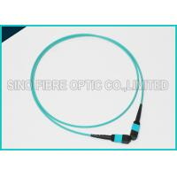Buy 100Gbps 24F MPO Fiber Optic Cable OM3 Trunk Polarity Straight A Cable at wholesale prices