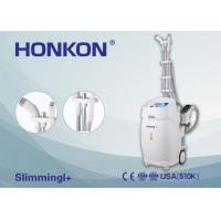 China HONKON Dual Mono-polar RF Infrared Light Vacuum Roller Body Face Slimming Machine on sale