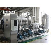 Quality Adjustment Ratio Carbonated Filling Machine  Used In Beverage Making Production Line for sale