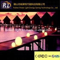 China Rechargeable Illuminated Pool Ball Plastic LED Sphere on sale