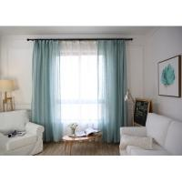 Quality Home / Hotel Modern Window Curtains Multiple Colors Lightweight For Bedroom for sale