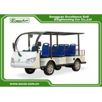 Quality 8-Seater 72V 7.5KW MOTER  Electric sightseeing car for sale