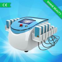 Quality Blue Safety Portable 650nm Lipo Laser Slimming Machine For Stomach Face Hips Lose Weight for sale