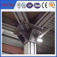 Buy roller material profiles aluminium extrusion,t slot extruded anodized aluminum at wholesale prices