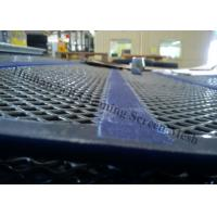 China Heavy Duty Wire Mesh Screen , Self Cleaning Sreen Mesh For Quarry Equipment on sale