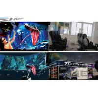 Quality 6 / 12 / 18 / 36 Persons 6D Movie Theater With Visual Impact, Special Effect System for sale