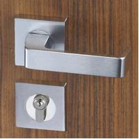 Quality Easy Installation Mortise Door Lock Zinc Alloy Handle For 38 - 55mm Door for sale