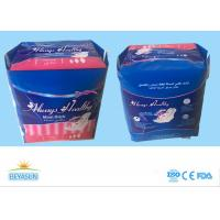 Quality Healthy Safe Ladies Sanitary Napkins Super Absorption For Day Use , Logo Custom for sale