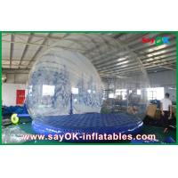 Quality 3m Dia Inflatable Holiday Decorations / Transparent Inflatable Chrismas Snow Globe for Advertising for sale