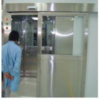 Buy ISO 7 Energy Efficient Stainless Steel Air Shower Room With Automatic Slid Door at wholesale prices