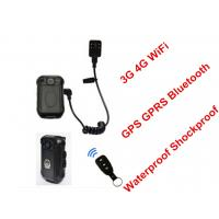 Buy cheap Law Enforcement Wifi Body Camera , Body Worn Video Camera High Resolution from wholesalers